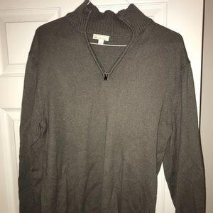 Gray quarter zip - Gap - Size L